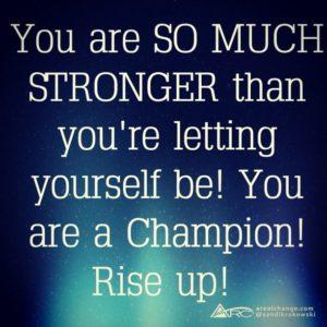 Champion rise up